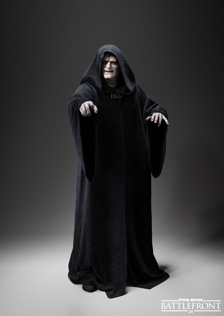 Star Wars Battlefront Imperator Palpatine