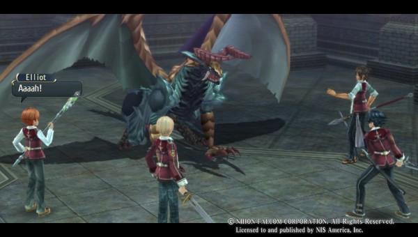 Der erste Schultag - Die Schulzeit beginnt direkt mit einen Kampf gegen einen Gargoyle.