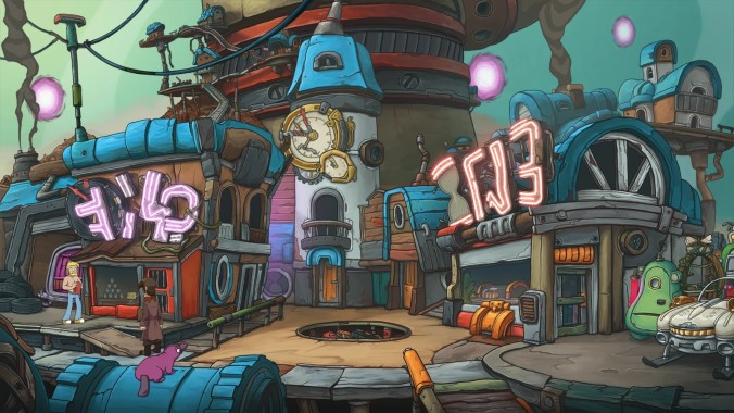 Deponia Doomsday: Screenshot 3