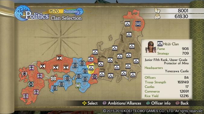 Samurai Warriors 4 Empires: Screenshot 11