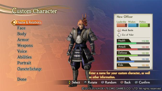 Samurai Warriors 4 Empires: Screenshot 2