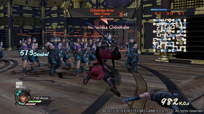 Samurai Warriors 4 Empires: Screenshot 3