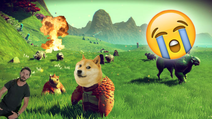 No Mans Sky in your face