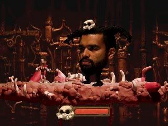Skullmonkeys Joe Head Joe