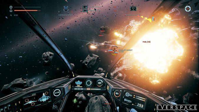 Auch eure Gegner verabschieden sich mit einer ordentlichen Explosion!