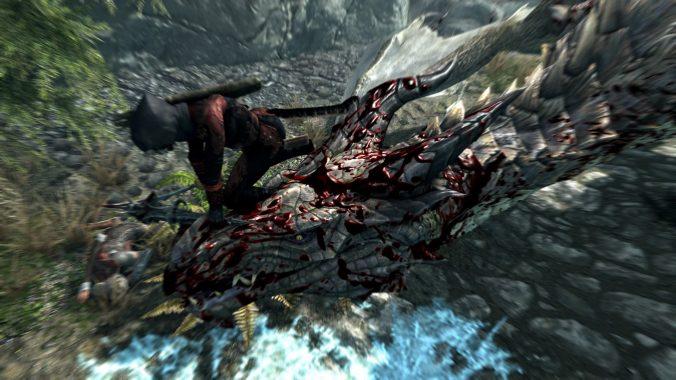 Natürlich dürfen die Kämpfe gegen Drachen nicht fehlen!